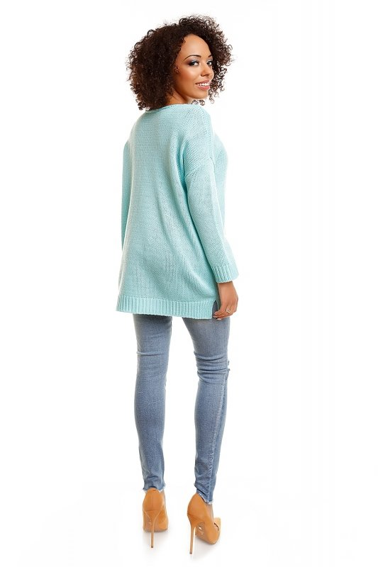 Sweter model 30045 Ice Mint