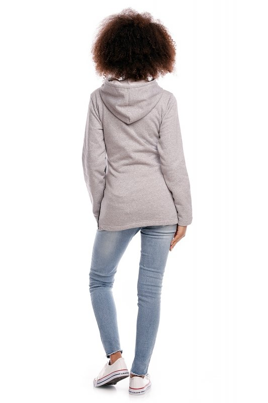 Bluza model 1477 Light Gray