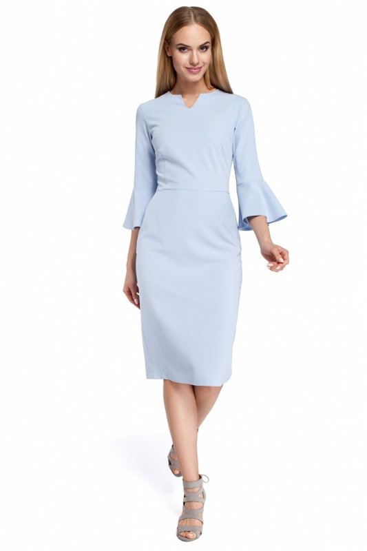 Sukienka Model MOE299 Sky Blue