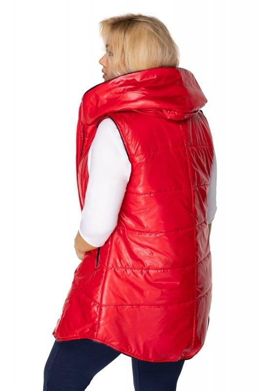 Pikowana-kamizelka-damska-plus-size-z-kapturem-xl-xxl-REDA-czerwona-tyl