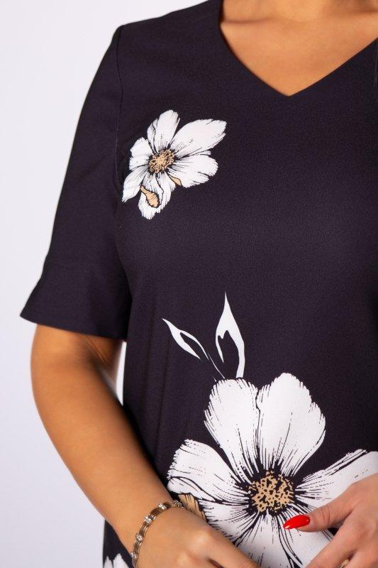 Sukienka w kwiaty MAJA