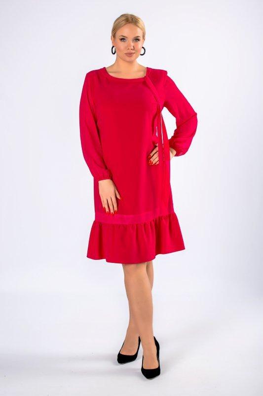 Sukienka KALIA bufiaste rękawy
