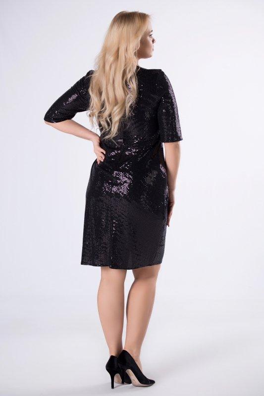 Sukienka sylwestrowa NITRO błyszcząca