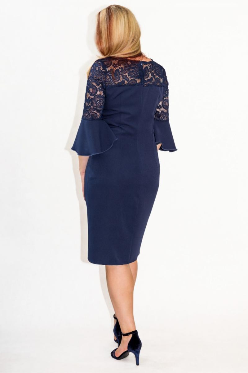 Elegancka-sukienka-XL-XXL-40-60-dla-puszystych-na-wesele-PAOLA-duze-rozmiary-poprawiny-granatowa-koronka-tyl