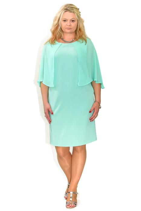 cd21ef89a8 Elegancka sukienka plus size MARIGOLD 40-60 na wesele - XELKA odzież ...