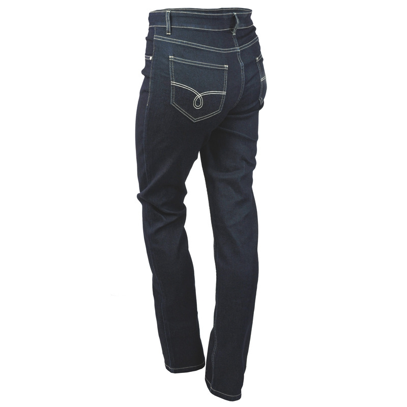Spodnie-damskie-xl-xxl-dla-puszystych-JEANS-PLUS-SIZE-44-OLA-granatowe-klasyczne-dlugie-nogawki-tyl