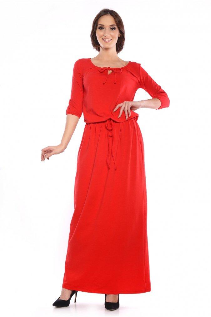 Elegancka-Sukienka-xl-xxl-Plus-size-MARIKA-S-XXXL-maxi-dluga-wiazana-dla-puszystych-czerwona