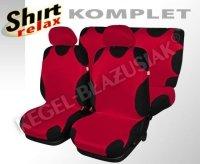 Koszulki ,, Shirt Relax'' Komplet czerwony