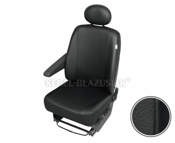 Pokrowiec na pojedynczy przedni fotel samochodowy Practical DV1 Trafic