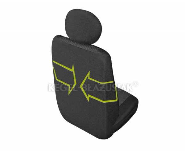 Pokrowiec ARES DV1 na przedni-lewy fotel rozm.M