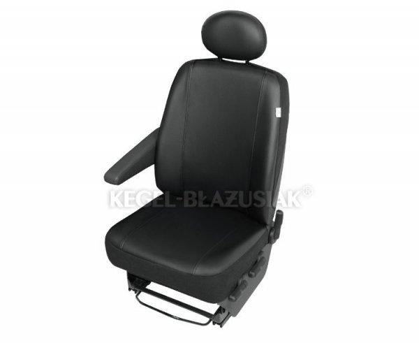 Pokrowiec na pojedyńczy przedni fotel samochodowy Practical DV1 Custom