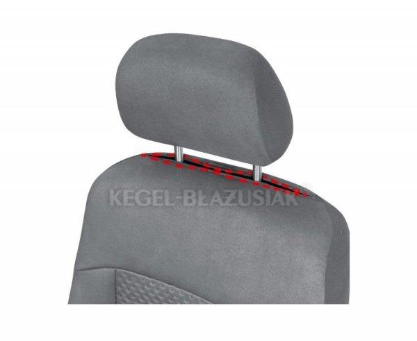 Pokrowiec ARCADIA na przednie fotele rozm. XL