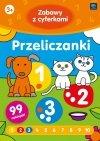 Kolorowanka z naklejkami ZABAWY Z CYFERKAMI PRZELICZANKI 3+ (43348)