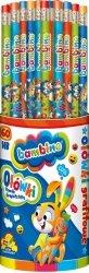 Ołówek z gumką BAMBINO (01673)