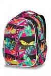 Plecak CoolPack LED JOY L w kolorowe liście PARADISE (97291)