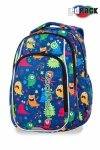 Plecak CoolPack LED STRIKE S zabawne potworki FUNNY MONSTERS (94702)