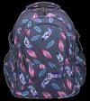 Plecak szkolny młodzieżowy ST.RIGHT w indiańskie pióra, INDIAN FEATHERS BP1 (22205)