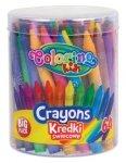 Kredki świecowe 64 kolory COLORINO KIDS (33008PTR)