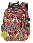 Plecak CoolPack FACTOR artystyczne wzory, COLOR VIBES + pompon (84991CP)