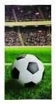 Ręcznik plażowy kąpielowy 70x140 piłka nożna, FOOTBALL (WZÓR24)