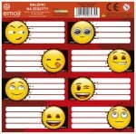 Nalepki na zeszyty Emoji EMOTIKONY (NNZEM)