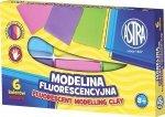 Modelina 6 kolorów fluorescencyjna ASTRA (40032)