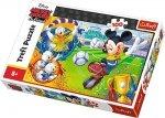 TREFL Puzzle 100 el. Myszka Miki na boisku, Myszka Mickey (16353)