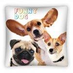 Poszewka na poduszkę Funny Dog 40 x 40 cm (PS0004)