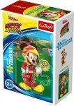 TREFL Puzzle miniMaxi 20 el. Miki i raźni rajdowcy, Myszka Mickey (21026)