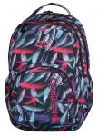 Plecak szkolny młodzieżowy COOLPACK SMASH w kolorowe pióropusze, PLUMES 962 (70874)