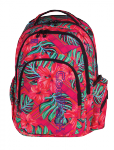 Plecak szkolny młodzieżowy COOLPACK SPARK 2 w egzotyczne kwiaty, CARIBBEAN BEACH 743 (73196)