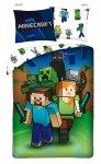 Komplet pościeli pościel Minecraft  140 x 200 cm (MNC-239BL)
