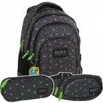ZESTAW 3 el. Plecak szkolny młodzieżowy BackUP HIPNOZA (PLB2A48SET3CZ)
