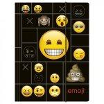 Teczka rysunkowa A4 z gumką Emoji EMOTIKONY (TGA4EM02)