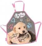 Fartuszek do prac plastycznych My Little Friend CAT & DOG Kotek i piesek (28405)