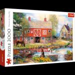 TREFL Puzzle 2000 el. Sielskie życie (27106)