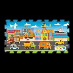 TREFL Puzzle piankowe Puzzlopianka Środki Transportu (60754)