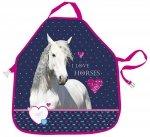 Fartuszek do prac plastycznych I LOVE HORSES Konie (FPPKO17)