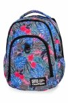 Plecak CoolPack STRIKE L  w kolorowe kwiaty, ALOHA BLUE (B18048)