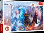 TREFL Puzzle 100 el. Kraina Lodu FROZEN 2, Magia Krainy Lodu (16366)