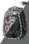 Plecak CoolPack LED STRIKE S GRAFFITI (94405)