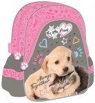 Plecak szkolno-wycieczkowy St. Majewski, My Little Friend CAT & DOG (28450)