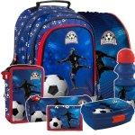 ZESTAW 7 el. Plecak szkolny FOOTBALL Piłka nożna (PL15BPI15SET7CZ)
