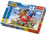 TREFL Puzzle 60 el. Lot dookoła świata, SUPER WINGS (17307)