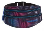 SASZETKA NERKA CoolPack na pas torba MADISON w kolorowe paski, FLASHING LAVA 949 (70447)