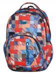 Plecak szkolny młodzieżowy COOLPACK SMASH w kolorowe kwadraty, MOTION CHECK 890 (68970)