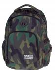 Plecak szkolny młodzieżowy COOLPACK BREAK 2 klasyczne moro, CAMOUFLAGE CLASSIC 880 (75718)