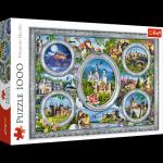 TREFL Puzzle 1000 el. Zamki świata (10583)