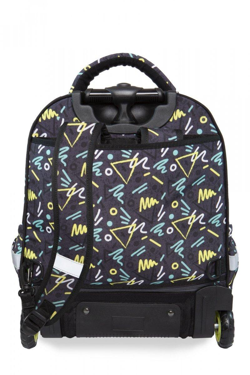 e559daf05db94 Plecak CoolPack STARR na kółkach w kolorowe wzory