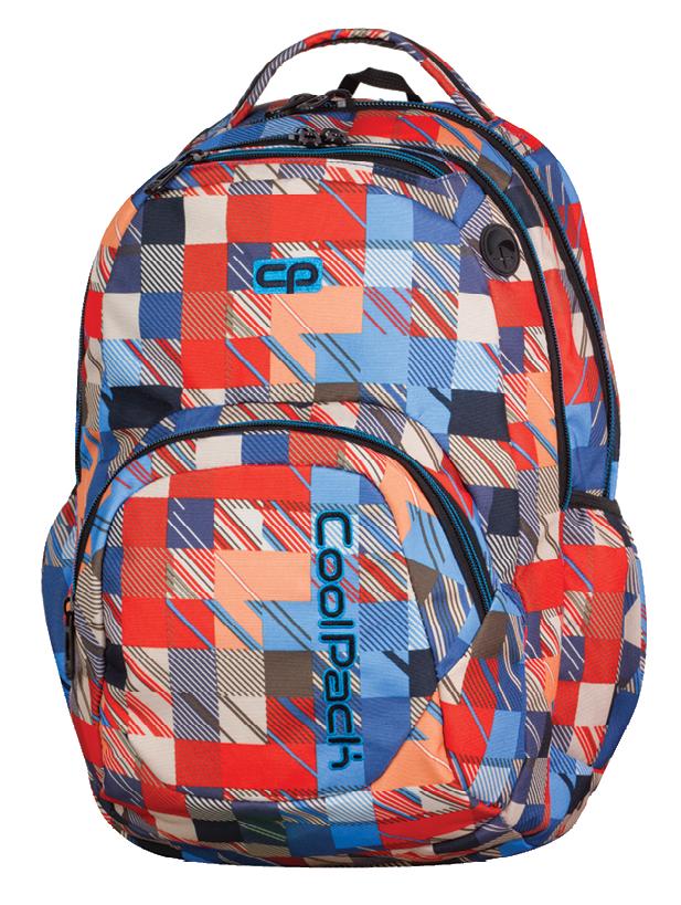 ff0b47890c5b6 Plecak szkolny młodzieżowy COOLPACK SMASH w kolorowe kwadraty ...
